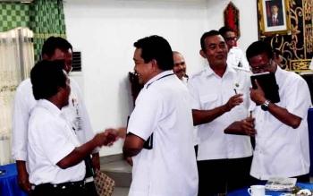 Kepala Organisasi Perangkat Daerah (OPD) di Kabupaten Pulang Pisau dalam sebuah kegiatan beberapa waktu lalu. BORNEONEWS/JAMES DONNY