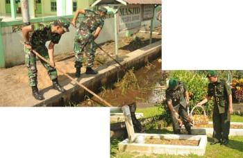 Kapendam XII/Tpr Pimpin Ziarah Rombongan ke Taman Makam Pahlawan