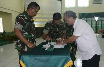 Kodam XII/Tpr Siap Sukseskan Cetak Sawah 2017 di Kalbar dan Kalteng