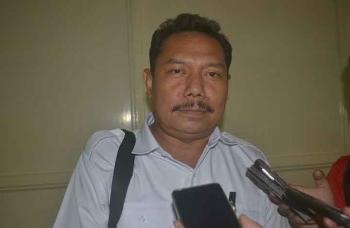 Kepala Dinas Pendidikan Kabupaten Katingan, Hartoni saat diwawancarai Borneonews beberapa hari yang lalu di Kasongan.BORNEONEWS/ABDUL GOFUR