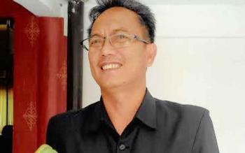 Anggota DPRD Kota Palangka Raya. Beta Syailendra, BORNEONEWS/TESTI PRISCILLA