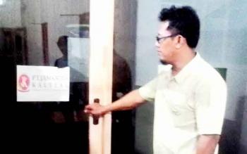Ruangan khusus untuk PT Jamkrida sudah disiapakah oleh Dinas Perindagkop Kapuas. BORNEONEWS/DJEMMY NAPOLEON