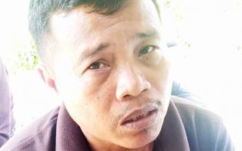 Gad Ihing : Kepala Desa Petak Bahandang. BORNEONEWS/EPRA SENTOSA