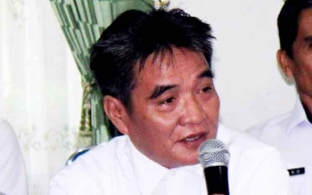 Kepala Badan Kesbangpolinmas Pulang Pisau Swady . BORNEONEWS/JAMES DONNY