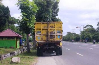 Jalan Tjilik Riwut, Palangka Raya dalam kondisi mantap. BORNEONEWS/ROZIQIN.