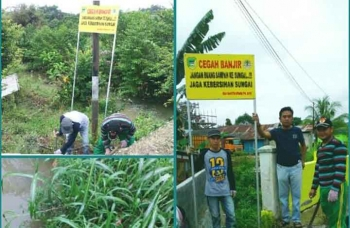 Pegawai Kecamatan Teweh Tengah Peduli Lingkungan