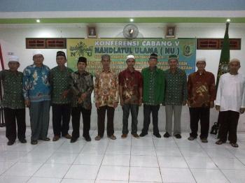 Pengurus Nahdatul Ulama Cabang Barito Selatan dan Ketua NU Provinsi Kalteng. (PPOST/H LAYLI)