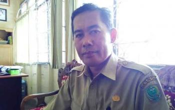 SUPARNO : Ketua MKKS Kabupaten Pulang Pisau Suparno. BORNEONEWS/JAMES DONNY