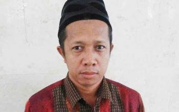 M. Tajudin Noor, anggota KPUD Seruyan. BORNEONEWS/PARNEN