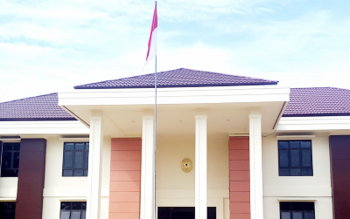 Kantor Pengadilan Agama Muara Teweh. (BORNEONEWS/RAMADHANI)