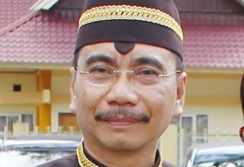 TUTE LELO : Kepala Dinas Tanaman Pangan Hortikultura dan Peternakan Kalimantan Tengah.