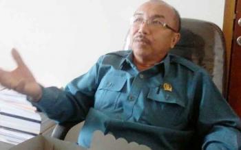 Ketua DPRD Katingan, Ignatius Mantir L Nussa. BORNEONEWS/ABDUL GOFUR