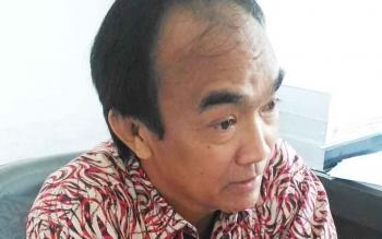 TATAU ARNOLD PISY : Anggota DPRD Gunung Mas. BORNEONEWS/EPRA SONTOSA