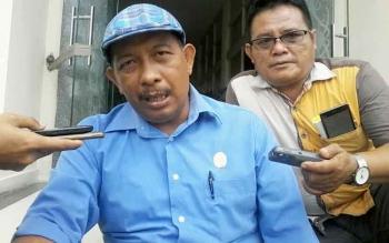 Ketua DPW Apkasindo Kalteng sekaligus Ketua Komisi I DPRD Katingan, Karyadi. BORNEONEWS/ABDUL GOFUR