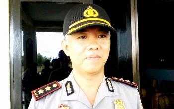 Kapolres Katingan AKBP Tato Pamungkas Suyono. BORNEONEWS/ABDUL GOFUR