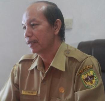 Kepala BKPPD Gumas Lurand. BORNEONEWS/EPRA SENTOSA