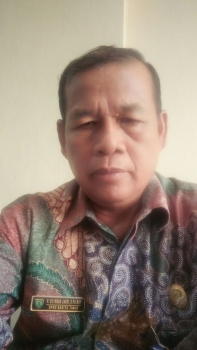 Foto Anggota DPRD Kabupaten Bartim Ciliman Jakri, dari Partai Gerindra, Sekaligus Ketua Komisi I DPRD setempat.