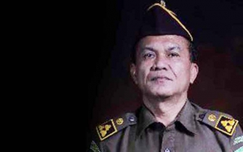 Asisten Pidana Umum Kejaksaan Tinggi Kalimantan Tengah, Salamat Simanjuntak. BORNEONEWS/RONI SAHALA