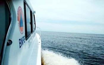 BNPB melakukan pencarian Juhriansyah, nelayan yang hilang. BORNEONEWS/KOKO SULISTYO