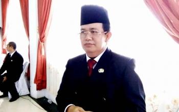 Kepala Dinas Pendidikan dan Kebudayaan (Dikbud) Kabupaten Lamandau, Meigo Basel. BORNEONEWS/HENDI NURFALAH
