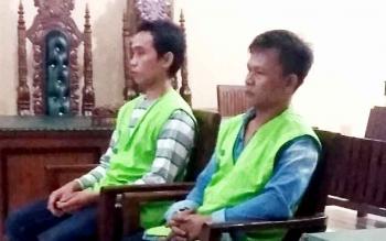 Jaksa Tuntut Dua Terdakwa Pemilik Senpi Rakitan 9 Bulan Penjara