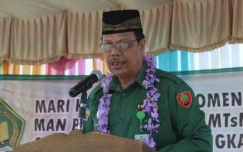 Kepala Kantor Kementerian Agama Kabupaten Murung Raya, H. Masrani. BORNEONEWS/SUPRI ADI/N