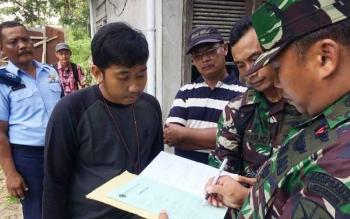 TNI AU Semprit BPN dalam Pengukuran Lahan