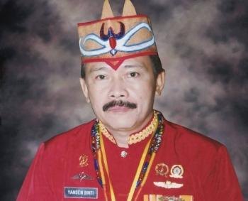 Yansen Binti: Pengurus DAD Kalteng.