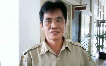 Sekretaris Dinas Pendidikan Katingan, Pranoto. BORNEONEWS/ABDUL GOFUR