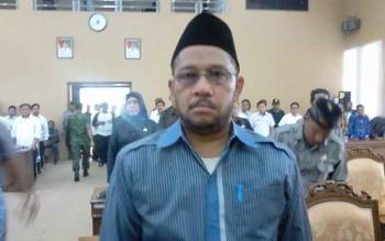 Fahmi Fauzi, Ketua Panitia Khusus dugaan perbuatan tercela Bupati Katingan. BORNEONEWS/ABDUL GOFUR