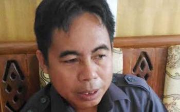 Herbert Y Asin : Anggota DPRD Gunung Mas. BORNEONEWS/EPRA SENTOSA