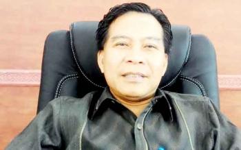 Ketua DPRD Kabupaten Kapuas Algrin Gasan S,Hut Politisi senior Partai Golkar.