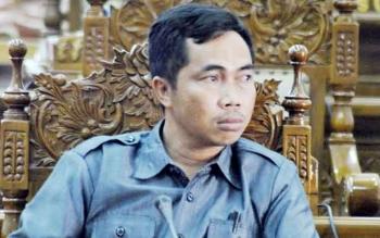 Anggota DPRD Kabupaten Pulang Pisau dari Fraksi Golkar Tandean Indra Bela. BORNEONEWS/JAMES DONNY