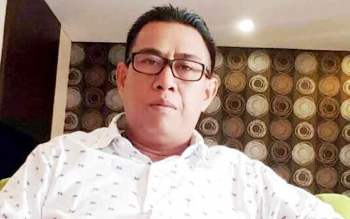 Kepala Badan Penelitian, Pengembangan, Inovasi dan Teknologi, Barit Rayanto. BORNEONEWS/TESTI PRISCILLA