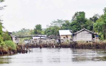 Desa Kanamit, Kecamatan Maliku, Kabupaten Pulang Pisau. (BORNEONEWS/JAMES DONNY)