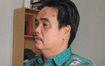 Waras : Kepala BPS Kabupaten Gunung Mas. BORNEONEWS/EPRA SENTOSA