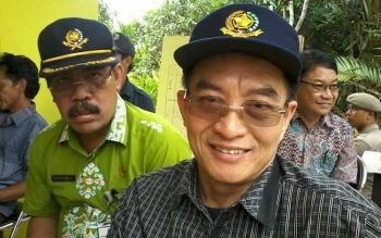 Hap Baperdo : Kepala Dinas Lingkungan Hidup kabupaten Katingan.