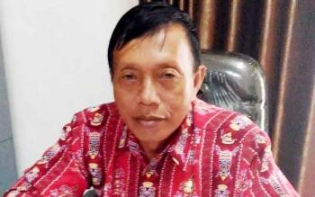 Kepala Badan Kesatuan Bangsa, Politik, dan Perlindungan Masyarakat (Kesbangpolinmas) Kabupaten Gumas Tasa Torang. BORNEONEWS/EPRA SENTOSA