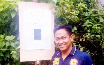 Kasat Intelkam Polres Kapuas AKP Ahmad Sopian. BORNEONEWS/DJIMMY NAPOLEON