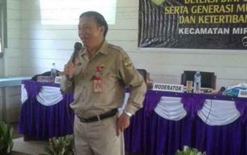 Kepala Kesbangpol Gumas Tasa Torang. BORNEONEWS/EPRA SENTOSA