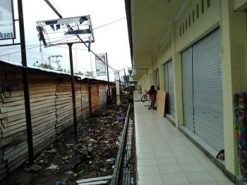 Beginilah kondisi Pasar Baru Patanak, Pulang Pisau. Kondisinya lebih rapi setelah dibangun. BORNEONEWS/JAMES DONNY
