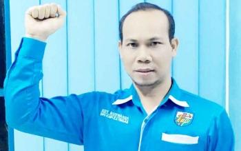 Ketua KNPI Kabupaten Katingan Edy Ruswandi.