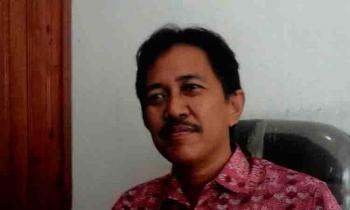Kabid Pemeritahan Desa dan Kelurahan Dinas Pemberdayaan Desa Kabupaten Kapuas, Jhon Pita. BORNEONEWS/DJIMMY NAPOLEON