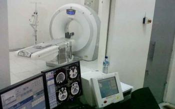 Alat CT Scan milik RSUD Sultan Imanuddin Pangkalan Bun. BORNEONEWS/WAHYU KRIDA