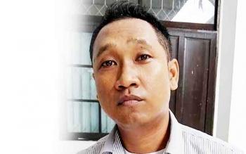 Sekretaris Kongres Advokat Indonesia Kalimantan Tengah Arif Irawan Sanjaya. (BORNEONEWS/RONI SAHALA)