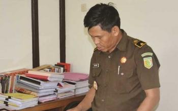 Kepala Seksi Penerangan Hukum Kejaksaan Tinggi Kalimantan Tengah, Rustianto. BORNEONEWS/RONI SAHALA