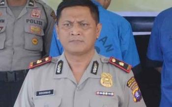 Ketua Tim Saber Pungli Sukamara, Rochmat Slamet. BORNEONEWS/NUR HASANAH