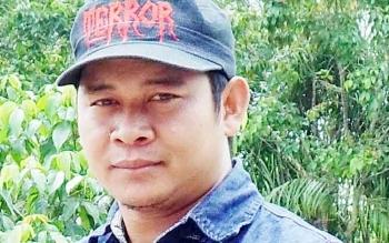 Ketua SPSI Kabupaten Katingan, Adiansyah.BORNEONEWS/ABDUL GOFUR
