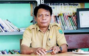 Rusmagau : Kepala Desa Mintin. BORNEONEWS/JAMES DONNY