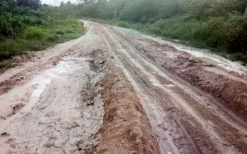 Tanpa Jalan Aspal, Desa Rungun Merasa Terisolasi
